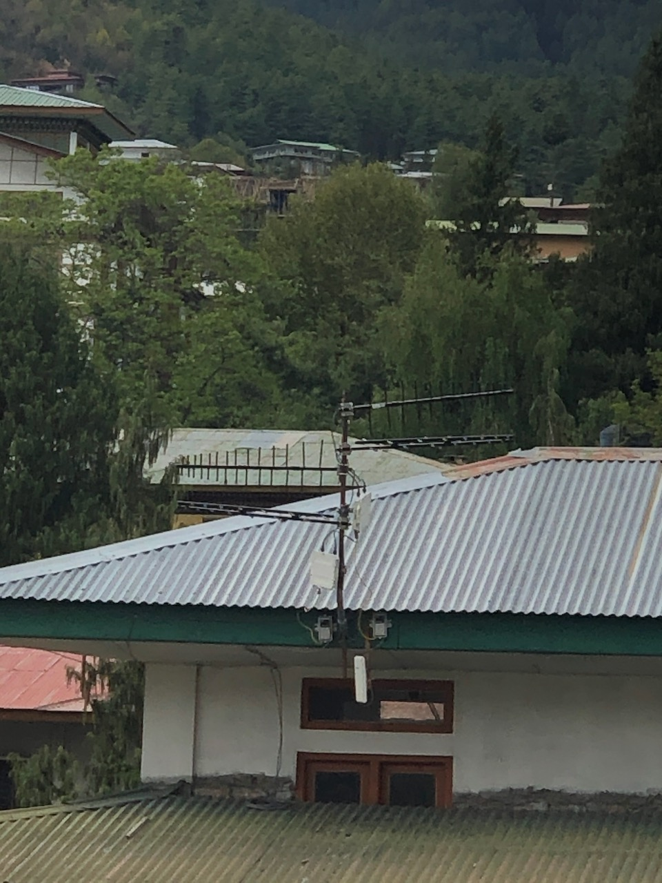 One of the Base Stations built on Rooftop