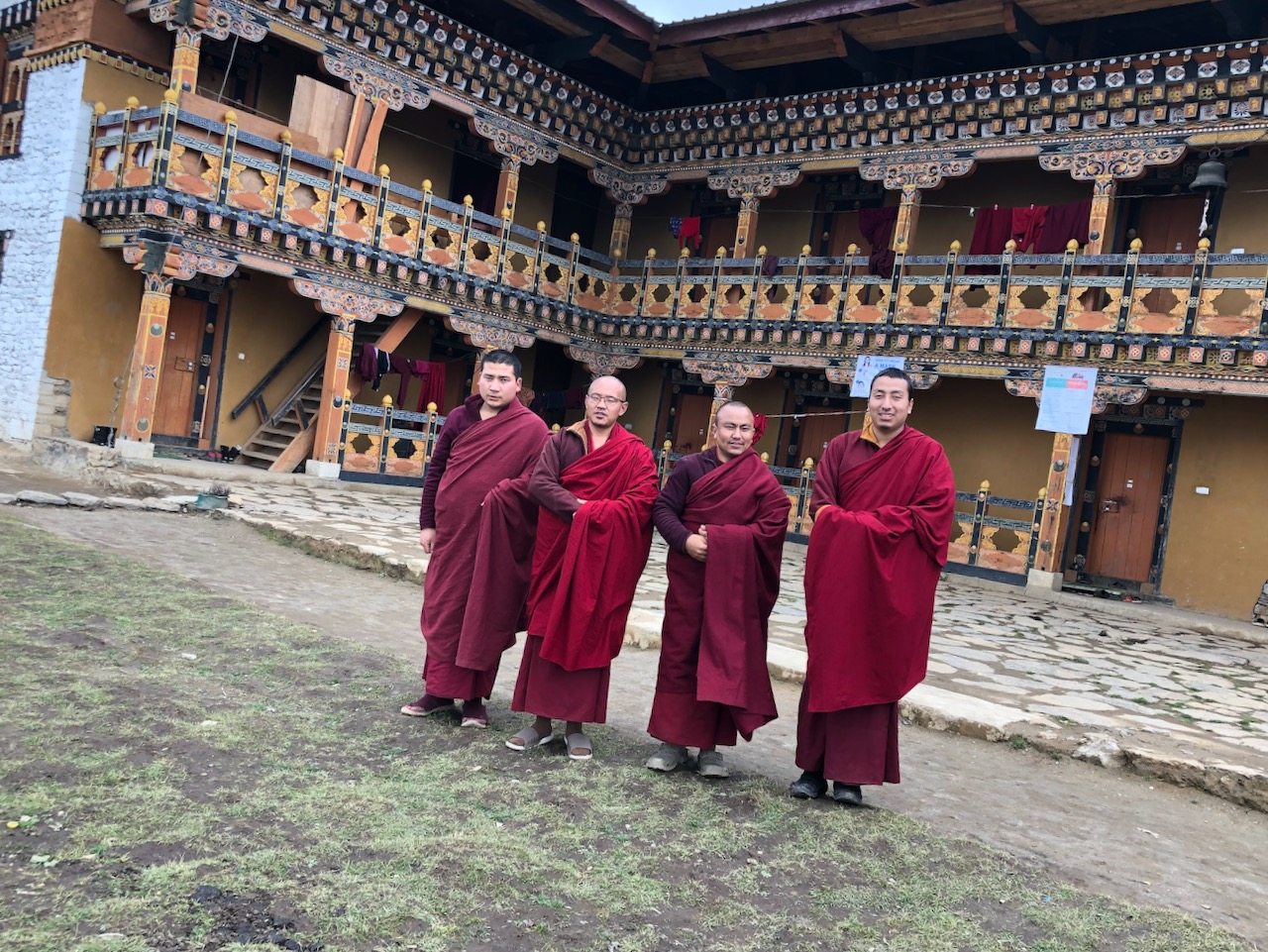 Teachers of Phajoding Monastery