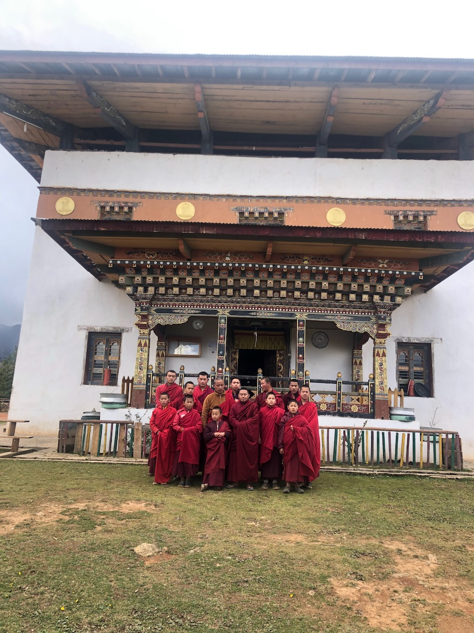 Talakha Monastery - Teachers & Student Monks