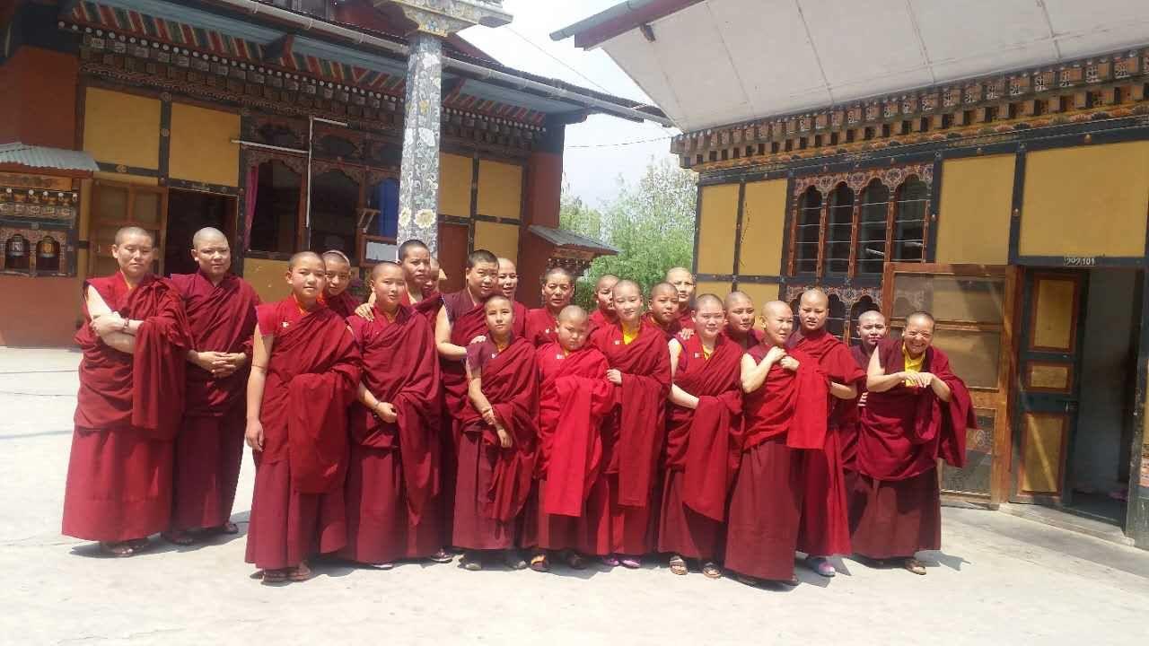 Nuns of Zilukha Monastery
